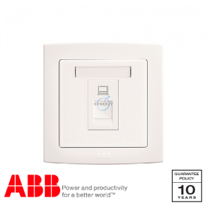 ABB Concept bs Data Sockets White