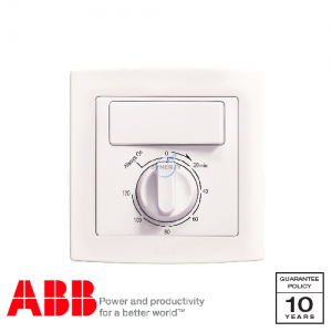 ABB Concept bs Time Delay Switch White