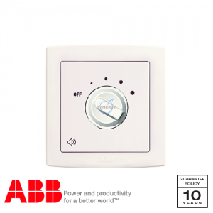 ABB Concept bs Volume Control Switch White