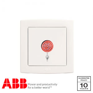 ABB Concept bs Emergency Switch White
