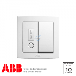 ABB Concept bs Fused Connection Units White