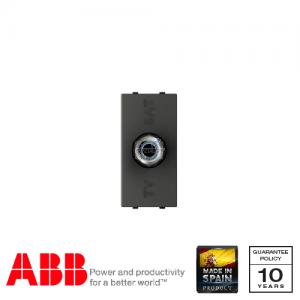 ABB Millenium 1 Gang TV / SAT Socket