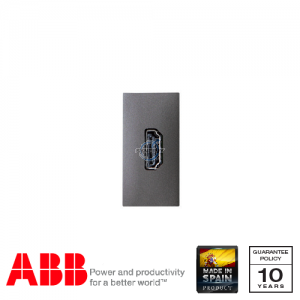 ABB Millenium 1 Gang HDMI DIY Connection Unit