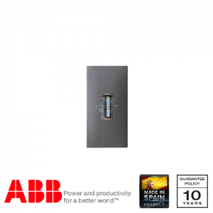 ABB Millenium 1 Gang USB Data Transfer DIY Connection Unit