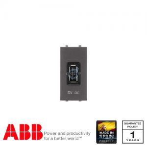 ABB Millenium 1 Gang USB Socket