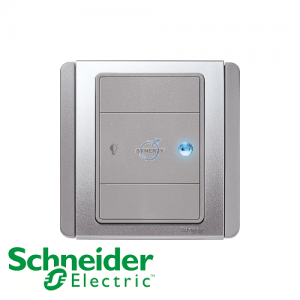 Schneider E3000 Dimmer Switch Grey Silver