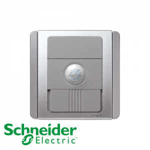 Schneider E3000 Energy Saving Occupancy Switch Grey Silver