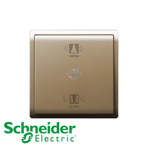 Schneider PIENO Curtain Switch Wine Gold