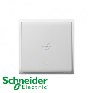 Schneider PIENO Switches with Fluorescent Locator White