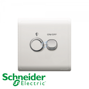 Schneider PIENO Dimmer Switch White