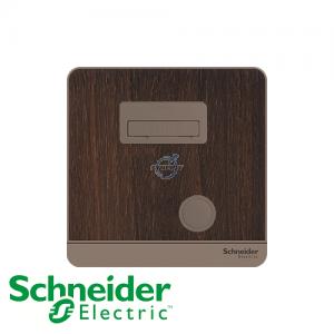 Schneider AvatarOn Fused Connection Units Wood