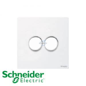 Schneider Ultimate 2 Gang Dimmer Pearl Metal