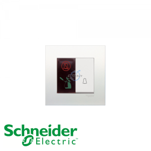 Schneider Vivace Bell Press Switch with Illumintated