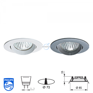 Philips QBS 024 Spotlight Fitting
