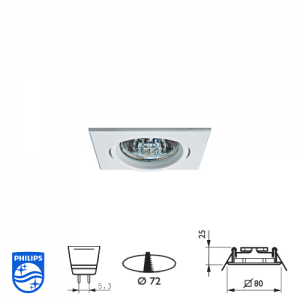 Philips QBS 025 Spotlight Fitting
