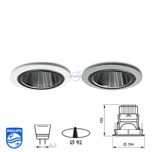 Philips QBS 041 Spotlight Fitting