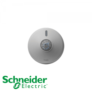 Schneider ARGUS 360° Surface/Flush Mount Dual-Load Dimmable Sensor (1-10V DC Signal, 100mA)