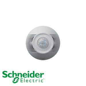Schneider ARGUS 180° Surface/Flush Mount Single-Load PIR and Ultrasonic Motion Sensor
