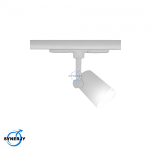 Synerjy GU10 Track Light Matt White