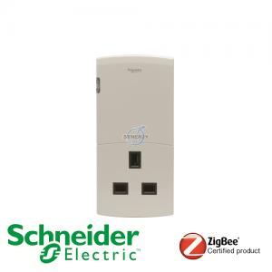 Schneider ULTI EZinstall3 British Format Plug Adapter Dimmer
