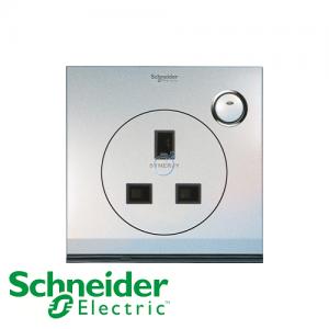 Schneider ULTI 13A 1 Gang Switched LED Socket