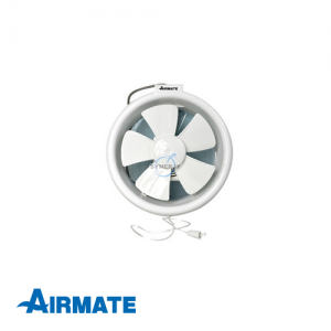 AIRMATE Window Mount Ventilating Fan (Round)