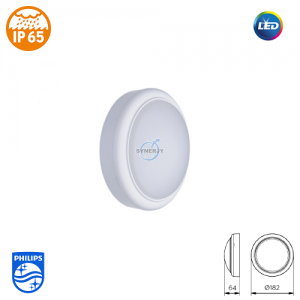 Philips WL008C SmartBright IP65 LED Light (Round)