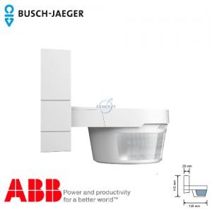 Busch-Watchdog 220 MasterLINE Premium IP55 感應開關 (白色) 連紅外線遙控器