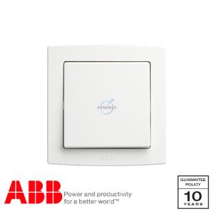 ABB Concept bs 十字 開關掣 白
