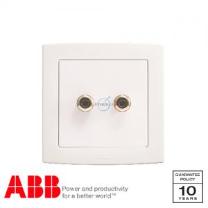 ABB Concept bs 音響 插座 白
