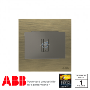 ABB Millenium 插卡開關 連LED指示燈 (5-90秒延時) - 古董金