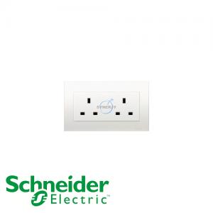 施耐德 Vivace 兩位 電源 插座