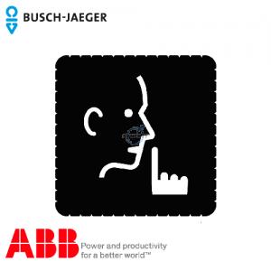 Busch-iceLight® 标志牌 (Quiet, please!)