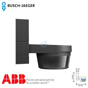 Busch-Watchdog 280 MasterLINE IP55 感应开关 (黑色) 连红外线遥控器