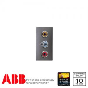 ABB Millenium 单位 3RCA 插座