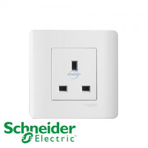 施耐德 ZENcelo 单位 电源 插座 凝白色