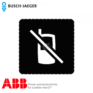 Busch-iceLight® 标志牌 (Mobile telephones prohibited)