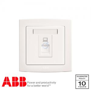 ABB Concept bs 数据 插座 白