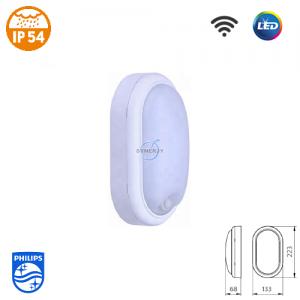 飞利浦 WL008C SmartBright IP54 LED 连感应 防水灯 (椭圆型)