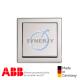 ABB future® linear 單位 開關掣 鋁銀色