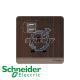 施耐德 AvatarOn 單位 插座 連USB 充電 胡桃木