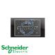 施耐德 Unica 兩位 13A 有掣 電源 插座 連指示燈 鏡面黑
