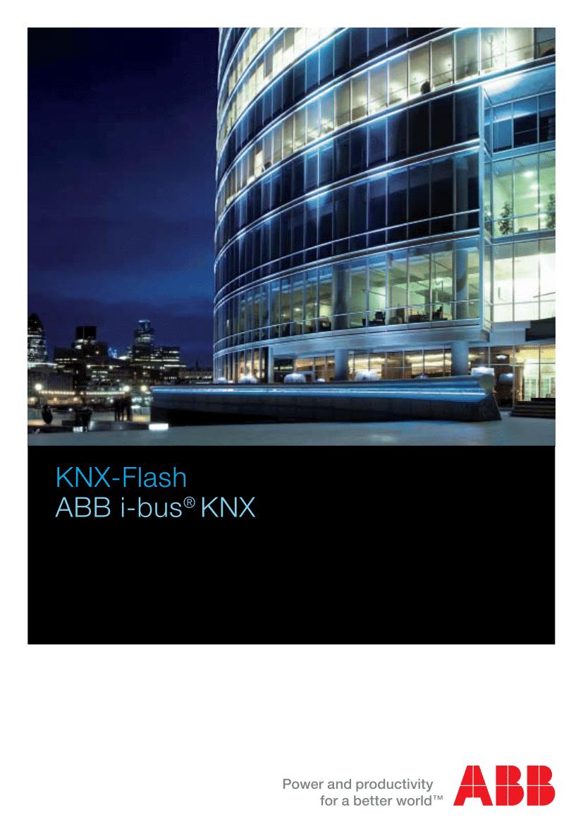 ABB KNX Flash Pocket reference