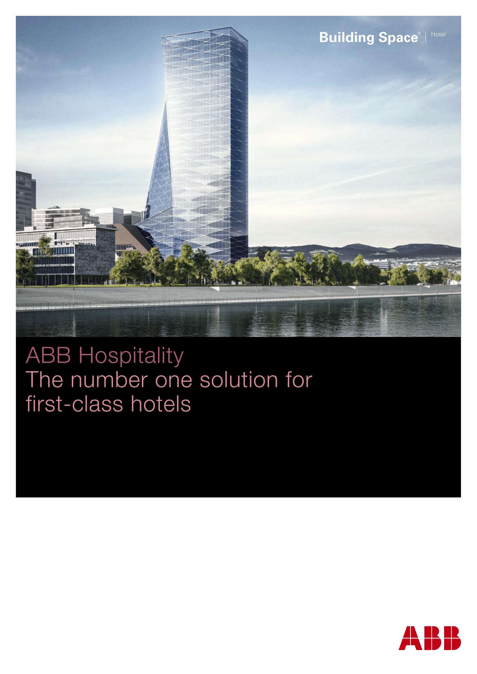 ABB KNX Hospitality Brochure