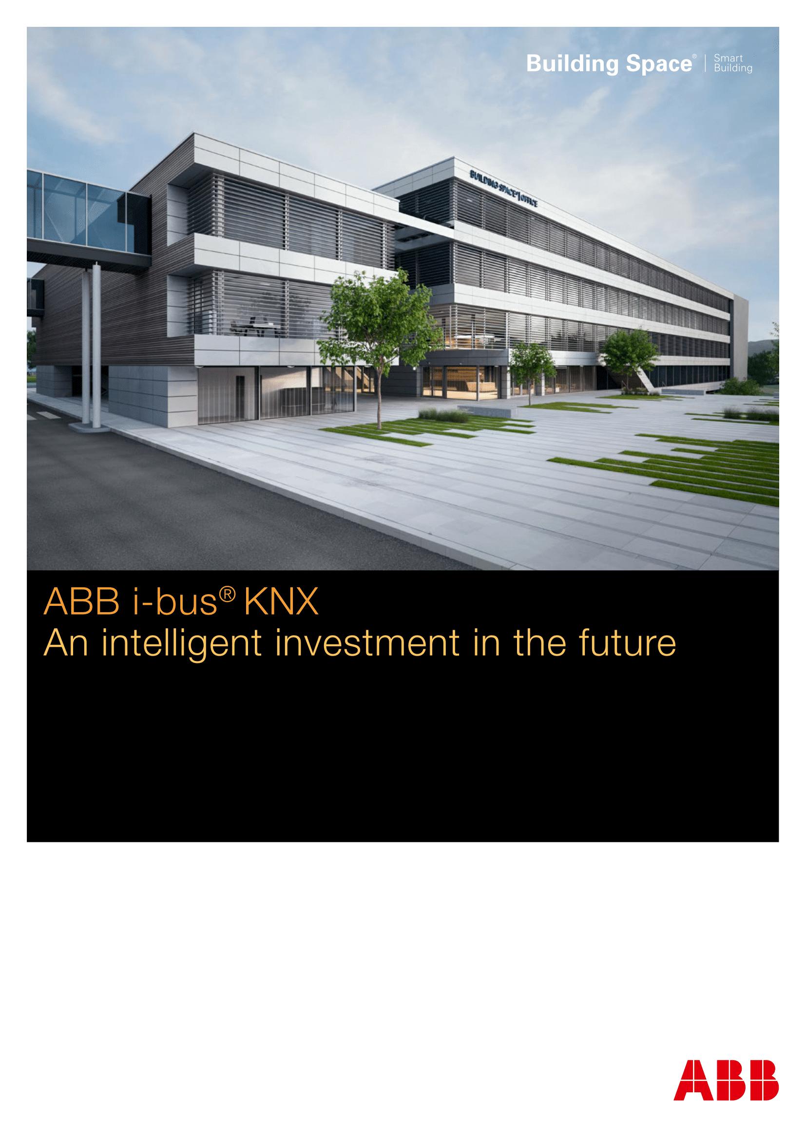 ABB KNX Investor Brochure