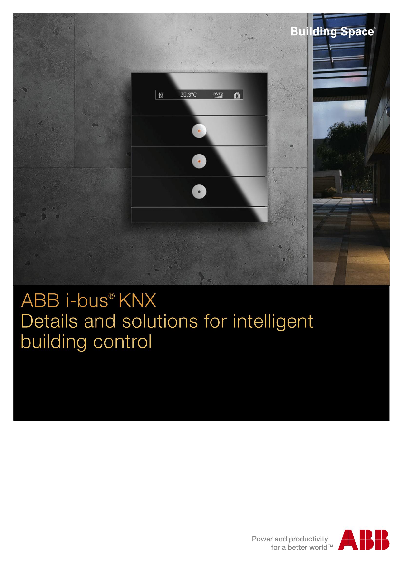 ABB KNX Sensor Brochure