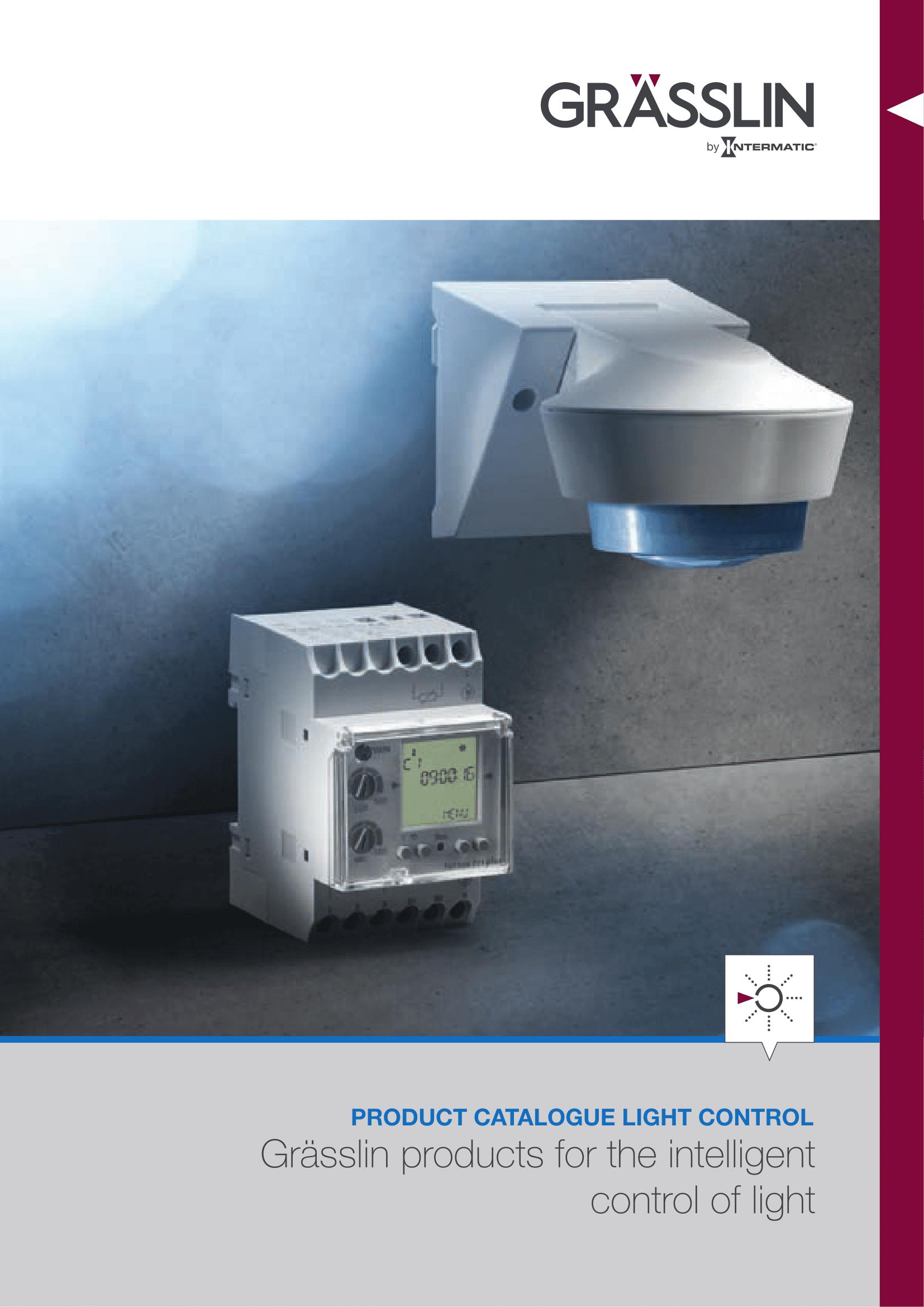 GRÄSSLIN Light Control Catalogue