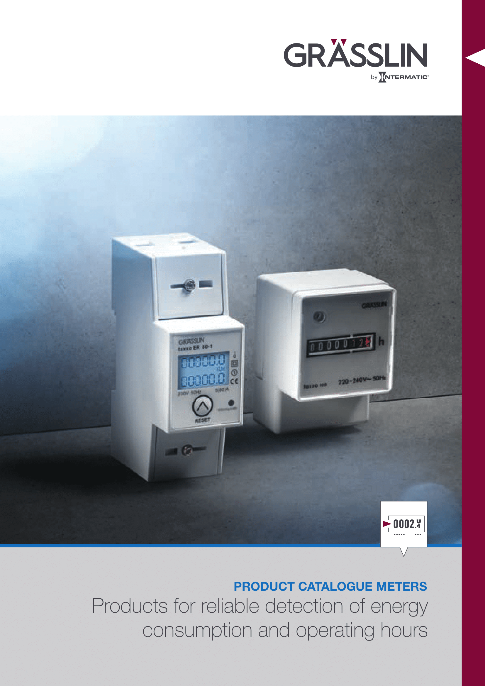 GRÄSSLIN Meters Catalogue