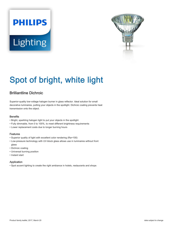 Philips Brilliantline Pro Brochure