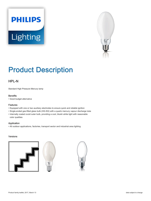 Philips HPL-N Brochure